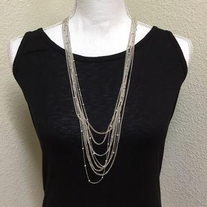 5/$25 Erica Lyons Multi-strand Cascading Necklace